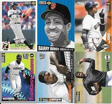 BARRY BONDS   (11)  COLLECTOR'S CHOICE 1994-95-96  SILVER SIGNATURES   NO DUPS