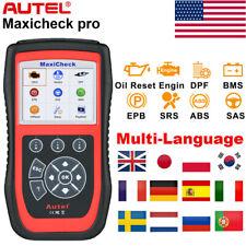Autel Maxicheck Pro ABS SRS OBD2 Code Reader Automotive Diagnostic Scanner Tool