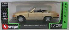Voitures, camions et fourgons miniatures en plastique pour Mercedes 1:8