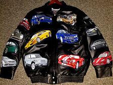 Jeff Hamilton:Exotic Cars Collection, Italian Lambskin CUSTOM 1 Of A Kind Jacket