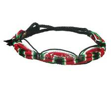 Palestine Flag Friendship Bracelet Nylon Wristband Jerusalem Arab Handmade
