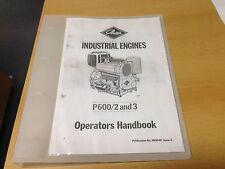 PETTER P600 OPERATORS HANDBOOK (COPY)