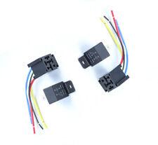 2set 80A 12V 5Pins DC AMP SPDT  Relays w/socket Car Starter Auto Relay Universal