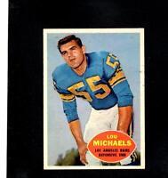 6176* 1960 Topps # 69 Lou Michaels Ex-Mt