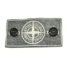Silver Frosted Bespoke Customised Stone Island Badge made from original badge