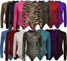 Camisas y tops de mujer de manga larga color principal multicolor de viscosa/rayón