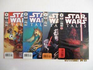 STAR WARS TALES 1-4 (1999) DARK HORSE COMICS
