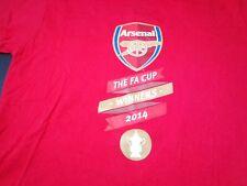 2014 FA Cup Winner  ARSENAL  Red Large  T-shirt Futbol  Soccer   M9