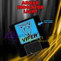 NEW VIPER 620V ARMED LOGO ALARM LIGHT DEI 5906 5904 5706 350 ELECTRO LUMINESCENT