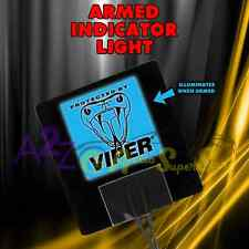 NEW VIPER 620V ARMED LOGO ALARM LIGHT DEI 5906 5904 5706 350 ELECTRO LUMINESCENT