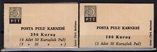 P136464/ TURKEY – BOOKLETS / MI # 2051 / 2052 MINT