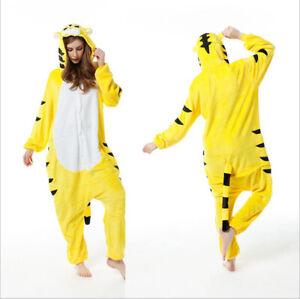 New Kigurumi Pajamas Adult Jumpsuit Sleepwear Anime Cosplay Costume