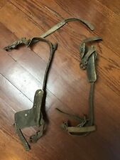 Vintage Buckingham Tree Pole Lineman Climbing Leg Spikes Gear