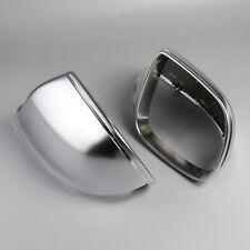 Matt Chrome Side Mirror Cover Caps Rearview Mirror Casing for Audi Q5 Q7 09-17