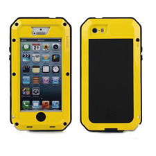 Case for Iphone 5c Waterproof Shockproof Steel Metal Hybrid Armor Cover Sturdy
