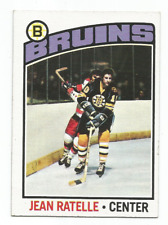 1976-77 Topps #80 Jean Ratelle Boston Bruins