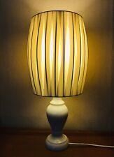 Mediados de siglo moderna lámpara blanco estilo