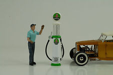 pompe à carburant Essence Verre a / Indien 1:18 n° car Figurine