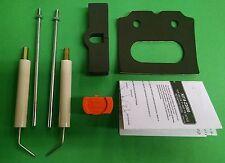 """Beckett Burner Electrode Kit, AF AFG AR SF SR 5780 up to 9"""" includes Z2000 Gauge"""
