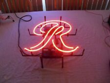 "Rainier Beer Big R Neon Light Sign 32""x24"" Lamp Poster Real Glass Beer Bar"
