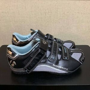 Bontrager Solstice Inform WSD Road Women's Cycling Shoes Black Silver Size 7.5