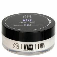 AG Style Waxx High Shine Pomade 1 Hold Factor 2.5 OZ!