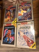 BRAND NEW FACTORY SEALED Atari 7800 4 Game Lot