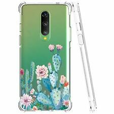 One Plus 8 case Shockproof Clear Soft Flexible TPU Slim Protective Phone Cover