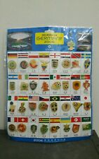 Vintage Fifa World Cup Germany 2006 Pin Badge Set