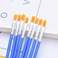10pcs/Set Paint Brush Set New Nylon Brush Watercolor Drawing Painting