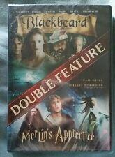 NIP 2 MOVIE 1 DVD BLACKBEARD & MERLIN'S APPRENTICE SAM NEILL NR  WIDESCREEN