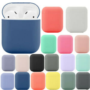 For Apple Airpods 1st Wireless 2nd Soft Rubber Ultra Slim Charging Case Cover