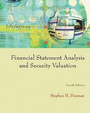 Financial Statement Analysis and Security Valuation, Stephen H. Penman, Good Boo