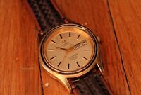 Vintage Mens Omega Watch Seamaster Cosmic 2000 Automatic Swiss PARTS/REPAIR