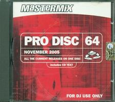 Pro Disc 64 Mastermix - U2/Rihanna/Destiny'S Child/Anastacia/Simply Red Cd Nuovo