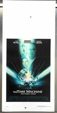 The Time Machine locandina poster affiches Guy Pearce Jeremy Irons fantascienza