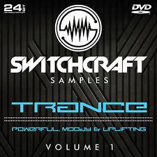 Trance VOL 1-Studio de 24bit wav / échantillons de production musicale-DVD