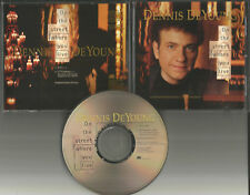 Styx DENNIS DEYOUNG On the Street where you live RARE EDIT PROMO CD Single 1994