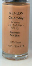 Revlon ColorStay Foundation Makeup  Normal Dry Skin - Toast 370