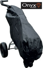 ONYX BLACK NYLON GOLF BAG RAIN COVER - - with POCKETS