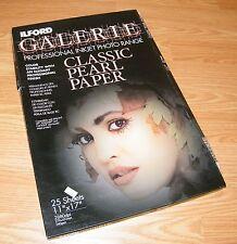 "ILFORD Galerie Professional Inkjet 11"" x 17"" Photo Range Classic Pearl Paper"