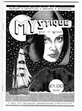 1988 fanzine MYSTIQUE TALES OF WONDER #1 - Alan Hunter Jim Pitts Ramsey Campbell