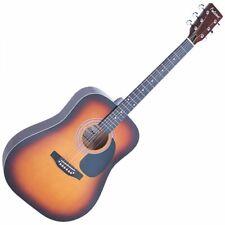 Falcon Fg100sb - guitarra Acústica con cuerdas Metálicas (tilo tipo Dreadnough