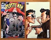 Plastic Man 1 2018 Main Cover + B Variant Amanda Conner Cover 1st Print DC NM