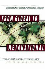 NEW - From Global to Metanational: How Companies Win in the Knowledge Economy