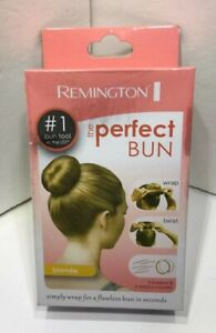 Remington The PERFECT BUN Blonde  Hair Styling Accessory New In Box