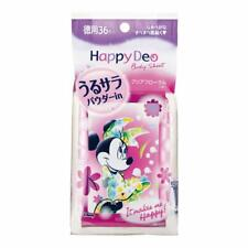 ☀Mandom Happy Deo Body wet wipes Clear Floral Ladies 36 Sheets