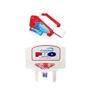 Intex Kool Splash Pool Water Slide w/ Sprayer and Swimline Pool Basketball Hoop