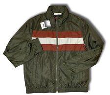 1,150 Bally Green Nylon Jacket Size US XXXL, EU 58, Made in Italy