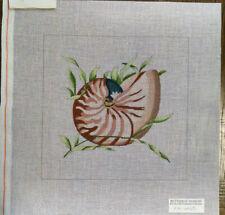Nautilus Handpainted Needlepoint Canvas